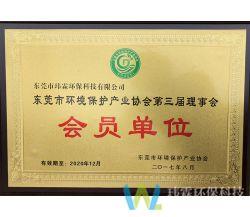 东莞市环境保护产业协会第三局理事会会员