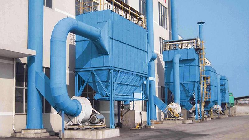 食品厂滤筒除尘器工程